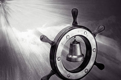 Gong Photograph - Dreaming Of The High Seas by Alexander Senin