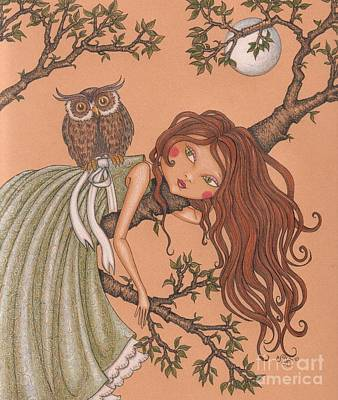 Dreaming Art Print by Snezana Kragulj
