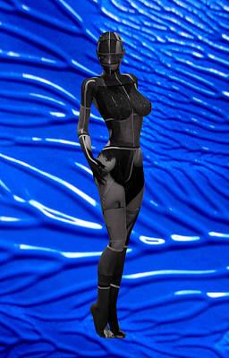 Dreaming The Blue Escape 2155 Art Print