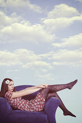 Sexy Feet Photograph - Dreaming To Fly by Joana Kruse