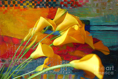 Dreaming Yellow Art Print by Marvin Blaine