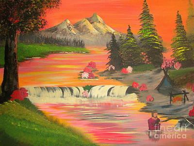 John Denver Painting - Dreamland IIi by John Morris