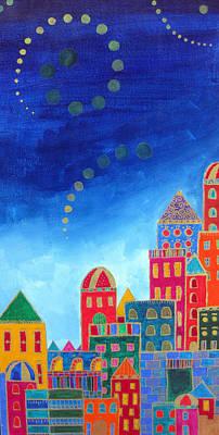 Dreams Above Jerusalem Art Print