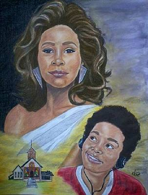 Colored Pencil Painting - Dreams Do Come True Whitney by Arron Kirkwood