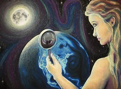 Beth Dennis Drawing - Dreams Of Beauty by Beth Dennis