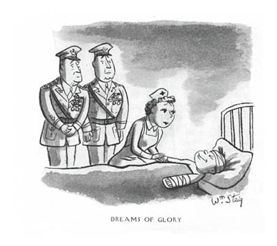 Two By Two Drawing - Dreams Of Glory by William Steig
