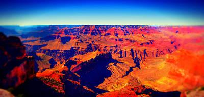 Mixed Media - Dreams Of Grand Canyon by Michelle Dallocchio