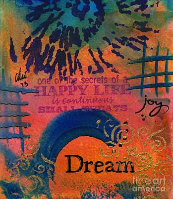 Painting - Dreams Of Joy by Angela L Walker