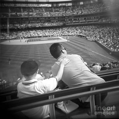 Boyhood Photograph - Dreams Of Our Childhoods At The Ballpark by Matthew Lit