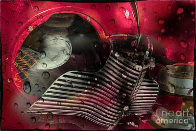Digital Art - Dreams Of Past Glory by Georgianne Giese