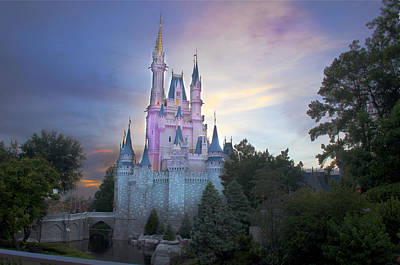Castle Photograph - Dreams Of Royalty by Ryan Crane