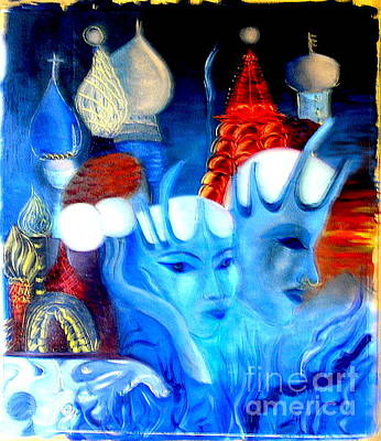 Painting - Dreams Of Russia by Pilar  Martinez-Byrne