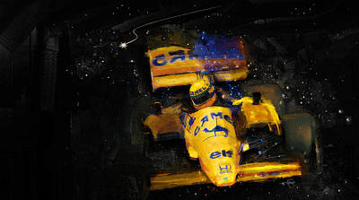 Digital Art - Dreams Of Senna by Alan Greene