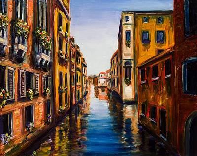 Venetian Balcony Painting - Dreams Of Venice by Kevin Richard