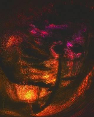 Subconscious Digital Art - Dreamscape 02 by Mimulux patricia no No