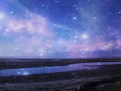 Interstellar Space Mixed Media - Dreamscape by Marilyn Wilson