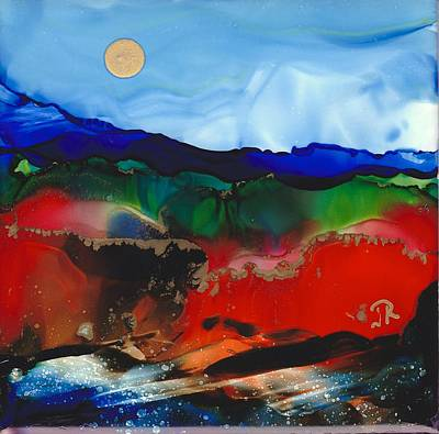 Painting - Dreamscape No. 350 by June Rollins
