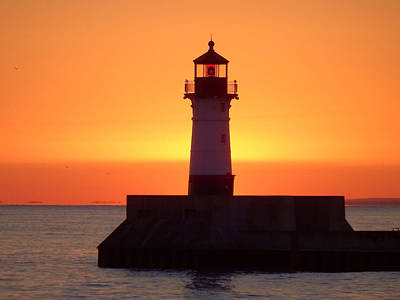 Duluth Photograph - Dreamsicle by Alison Gimpel