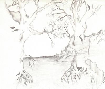 Dreamtrees Art Print