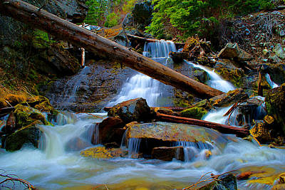 Photograph - Dreamy Falls  by Kevin Bone