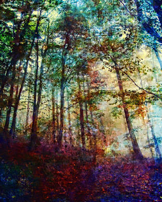 Digital Art - Dreamy Forest by Joe Misrasi