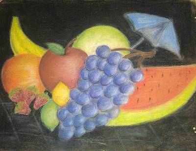 Dreamy Fruit Art Print by Tracy Lawrence