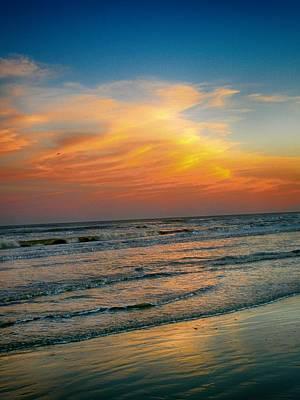 Photograph - Dreamy Gulf Coast Sunset by Kristina Deane
