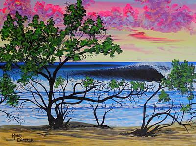 Puravida Painting - Dreamy Playa Negra by Marty  Calabrese