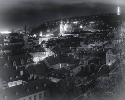 Prague Photograph - Dreamy Prague Christmas by Joan Carroll
