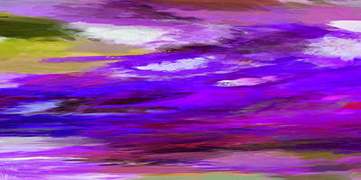 Digital Art - Dreamy Skies 4 by Ernie Echols