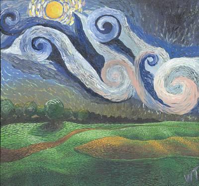'dreamy Sky' Art Print