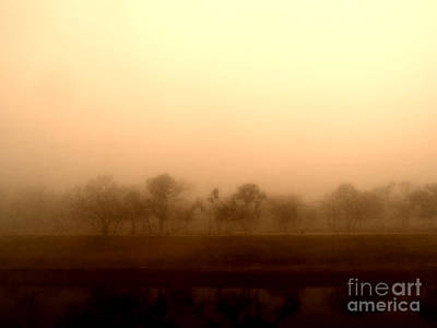Photograph - Dreamy Spring Fog by Eddie Lee