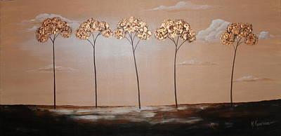 Dreamy Sunset Art Print by Mariya Kazarinova