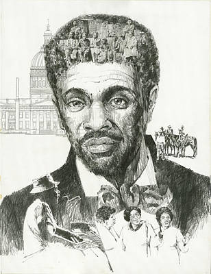 Civil Painting - Dred Scott by Don  Langeneckert