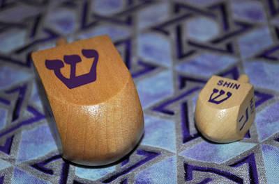 Jewish Pride Photograph - Dreidel Dreidel by Tikvah's Hope