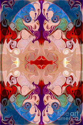 Digital Art - Drenched In Awareness Abstract Healing Artwork By Omaste Witkows by Omaste Witkowski