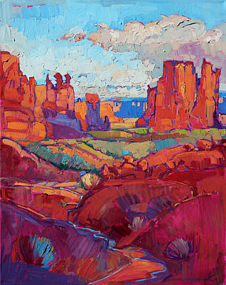 Painting - Drenched In Spring by Erin Hanson