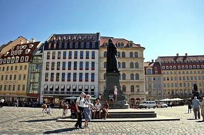 Photograph - Dresden - 69 by Rezzan Erguvan-Onal