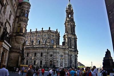 Photograph - Dresden - 77 by Rezzan Erguvan-Onal