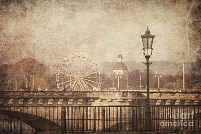 Dresden Wall Art - Pyrography - Dresden by Jelena Jovanovic