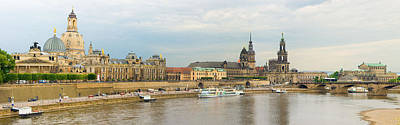 Dresden Photograph - Dresden Panorama by Robert Cook