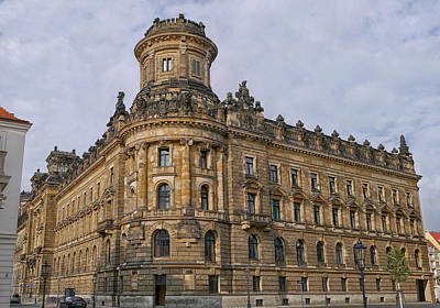 Photograph - Dresden Police Station by Herb Paynter