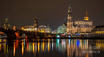 Photograph - Dresden The Capital Of Saxony II by Bernd Laeschke