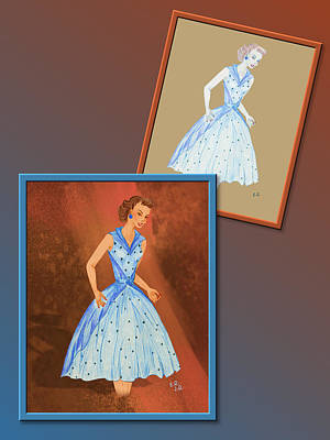 Digital Art - Dress Design 37 by Judi Quelland