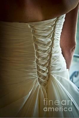 Photograph - Dress Detail by Jon Burch Photography