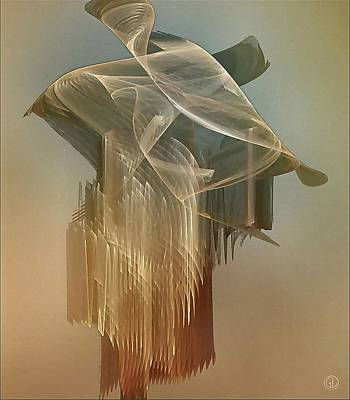 Apophysis Digital Art - Dress From The 1920th by Gun Legler