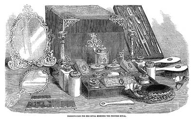 Duchess Painting - Dressing Case, 1858 by Granger