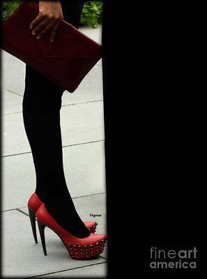Stiletto Heel Photograph - Dressing For Power by Steven Digman
