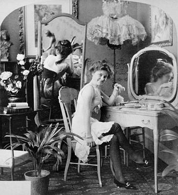 Dressing Room, C1900 Art Print