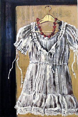 Painting - Dressing Up by Gaye White